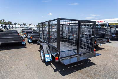 Garden and sheep crate trailer
