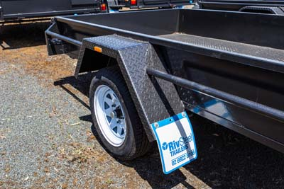 EXTRA HEAVY DUTY SINGLE AXLE TRAILER