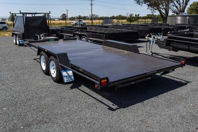 Car Carrier 14ft x 6ft 6inch Tandem Axle Trailer