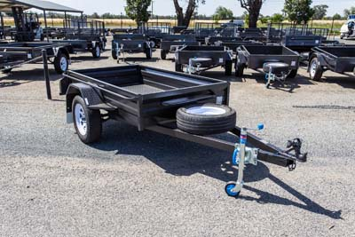 Heavy duty single axle trailer